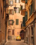 Narrow Street - Verona , Italy royalty free stock photos