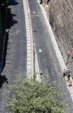 Narrow street of Via Luigi de Maio. Sorrento. Narrow street of Via Luigi de Maio.  Sorrento.  Italy Stock Photography