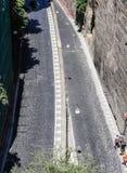 Narrow street of Via Luigi de Maio. Sorrento. Narrow street of Via Luigi de Maio.  Sorrento.  Italy Stock Image