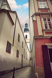 Narrow street in Vienna Royalty Free Stock Image