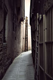 Narrow street in Venice Royalty Free Stock Photography
