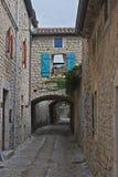 Narrow Streets Stock Photo