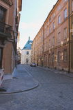 The narrow streets of ancient stone Royalty Free Stock Photography