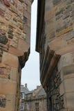 Narrow Streets of Edinburgh Stock Photography