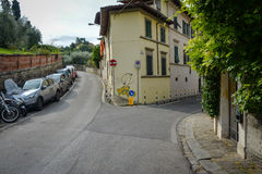 Narrow streets in Florence, Italy Stock Images