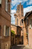 Narrow streets, France Stock Photos
