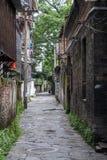 Narrow streets of Guilin on the banks of Li river,  China Stock Photo