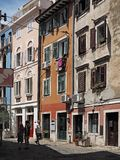 Piran, old town in Slovenia royalty free stock images