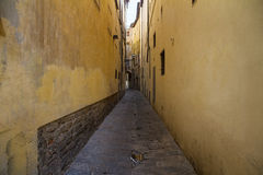The narrow streets Royalty Free Stock Photo