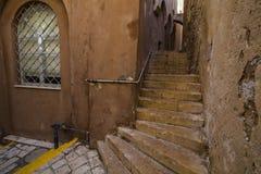The  narrow streets of Jaffa. Tel Aviv, Israel. Royalty Free Stock Photography