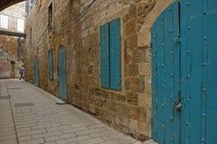 narrow streets of Jerusalem Stock Image
