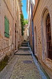Narrow streets of Montenegro Royalty Free Stock Image