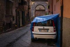 Narrow streets of Naples, Italy. Stock Photos