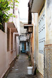 Narrow streets of Nha Thrang, Vietnam Royalty Free Stock Photo
