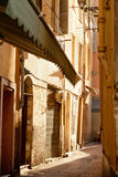 Narrow streets in Nice Royalty Free Stock Photo
