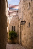 Narrow streets of old city. Royalty Free Stock Image