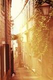 Narrow streets Stock Image