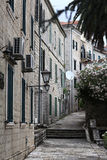 Narrow streets Stock Images