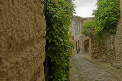 Narrow streets in Provence Stock Images