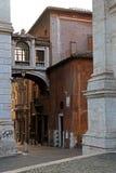 Narrow streets of Rome, Italy Royalty Free Stock Image