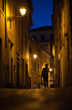 Narrow streets of Rome Royalty Free Stock Image