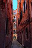 Narrow streets of Venice Royalty Free Stock Image