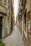 Narrow Streets of Venice Royalty Free Stock Photos