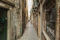 Narrow Streets of Venice Royalty Free Stock Image