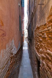 Narrow Streets of Venice Stock Photo