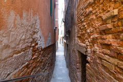 Narrow Streets of Venice Royalty Free Stock Images
