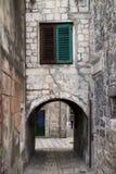 Narrow treet in Diocletian palace Royalty Free Stock Photos