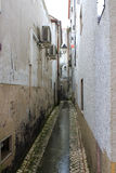 Narrow walkway or alley Stock Photo