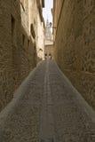 Narrow walkways of historic Toledo, Spain Royalty Free Stock Photo