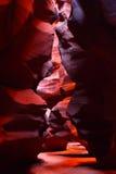 Narrow Walls of Antelope Canyon Royalty Free Stock Images