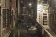 Night in Venice stock photos