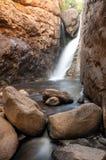 Narrow Water Fall royalty free stock images