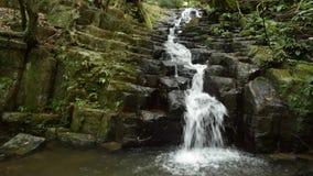 Narrow white cascade