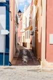 Narrow winding streets Royalty Free Stock Image