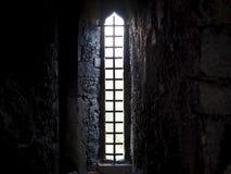 Narrow Window Or Arrow Loop In Blarney Castle Ireland Stock Photos