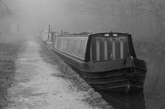 Narrowboat Fotos de Stock Royalty Free