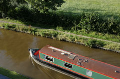 Narrowboat Stock Image