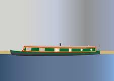 Narrowboat Στοκ εικόνα με δικαίωμα ελεύθερης χρήσης