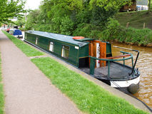 Narrowboat Royaltyfri Foto