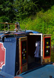 Narrowboat Royalty Free Stock Photography