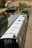 Narrowboats at Llangollen Stock Photography