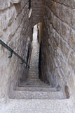 The narrowest alley in Safed Royalty Free Stock Images