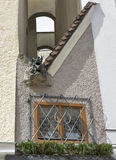 Narrowest house in Salzburg Stock Image