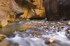 Narrows Water Blur Stock Photo