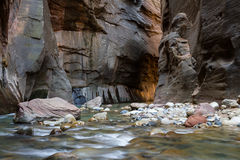The Narrows in Zion NP Stock Photography