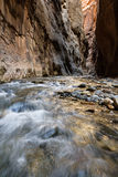 The Narrows in Zion NP Royalty Free Stock Photo